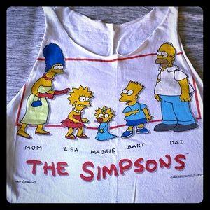 Vintage Original Simpson's hand cut tee